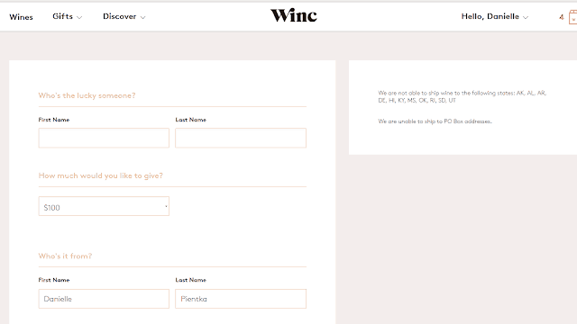 Winc makes a great gift!