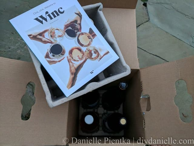 Packaging for shipping wine.