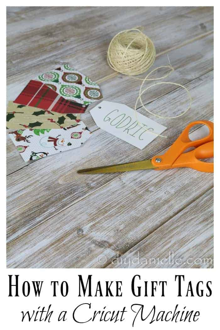 DIY Holiday Gift Tags with the Cricut Air 2