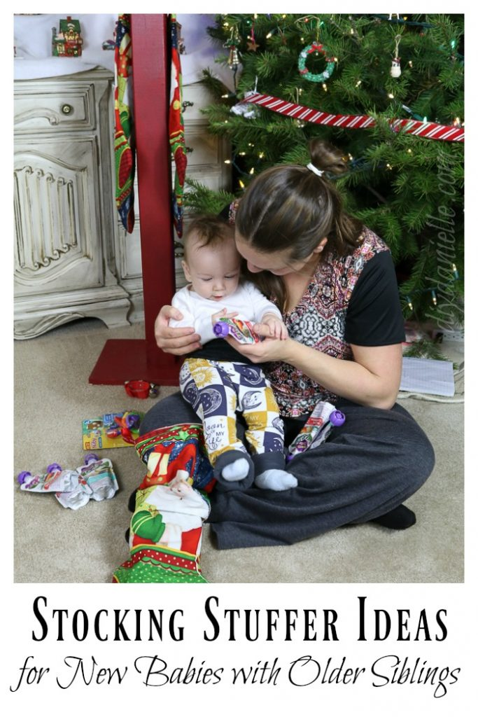 Stocking stuffer ideas for babies with older siblings.