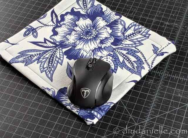 How to Sew a Mousepad