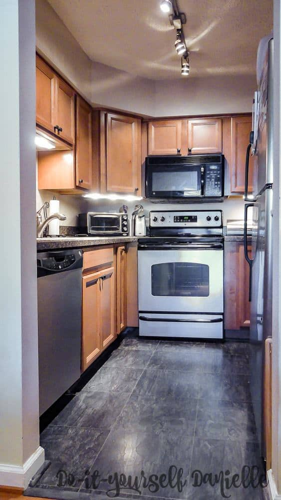 The Updated Condo Kitchen Made This Home Easier To Sell When It Was Listed  On The