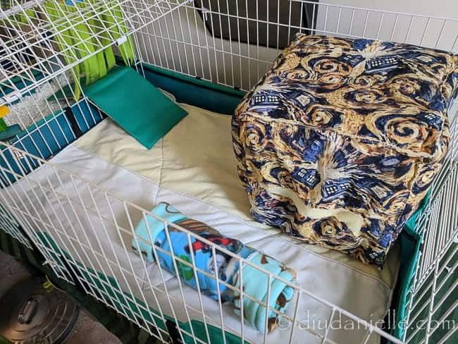 How To Sew Cage Liners For Guinea Pigs Diy Danielle