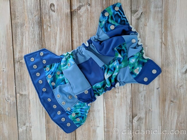 How To Sew A Patchwork Cloth Diaper Diy Danielle