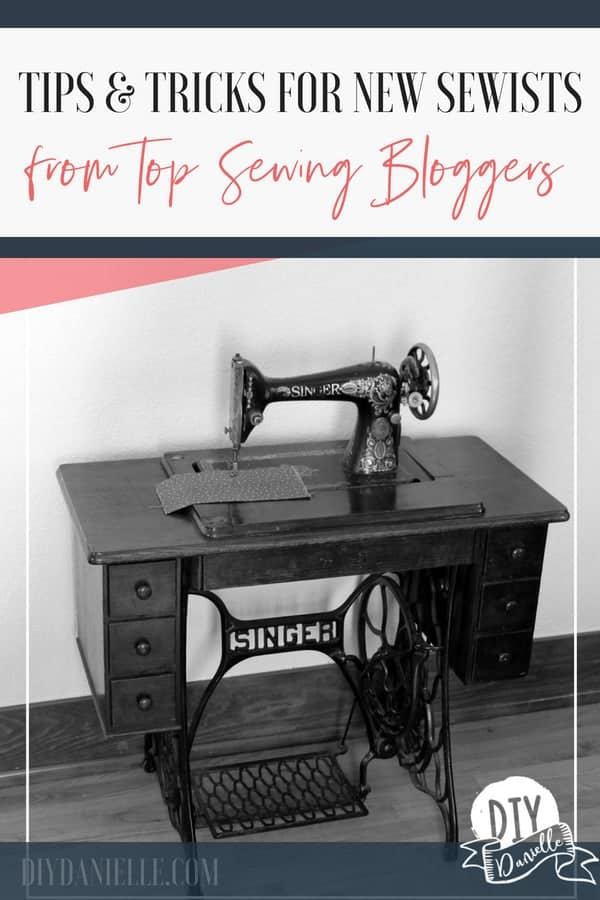 Tips and tricks for sewing from top sewing bloggers.