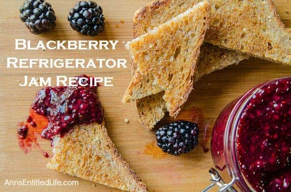 Gift this blackberry jam!