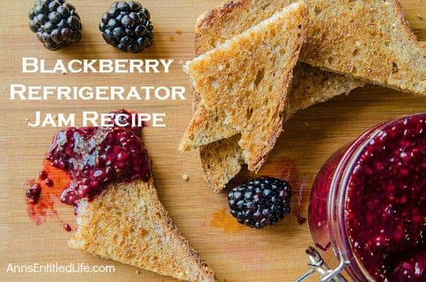 Gift this blackberry jam!