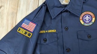 How to Sew or Iron on Boy Scout Patches
