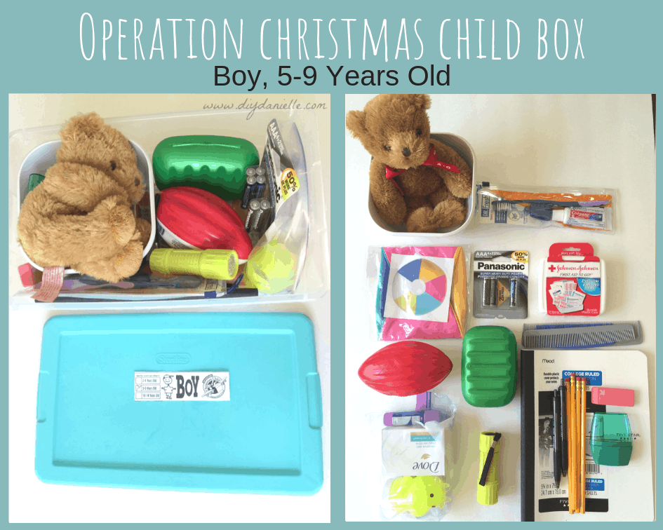 Shoe box for boy, 5-9