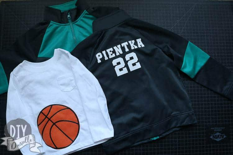 Dress the family up as the basketball team!