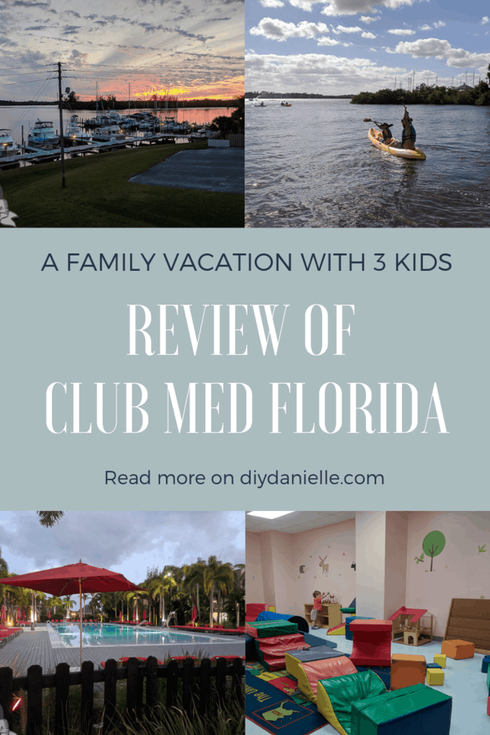 Learn more about taking a family vacation to Club Med in Sandpiper Bay Florida with three kids