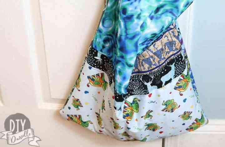 Creating a Patchwork Kitchen Wet Bag with Scrap PUL