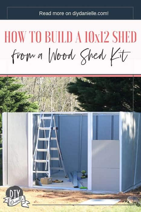 How to build a 10x12 shed using a shed frame kit from ShelterLogic.