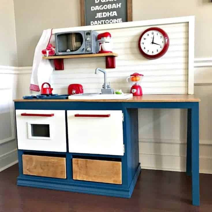 Kids Play Kitchen DIY Woodworking Plan