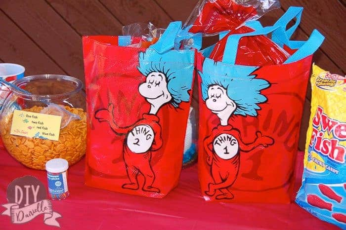 Food for Dr. Seuss party