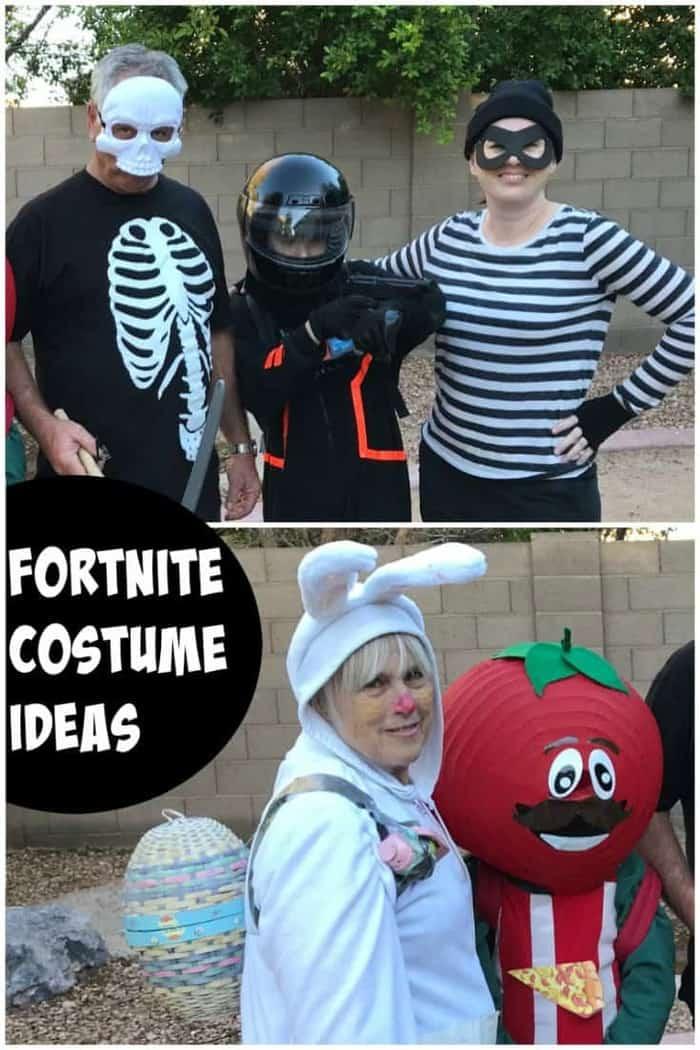 Easy Fortnite Costume Tutorials