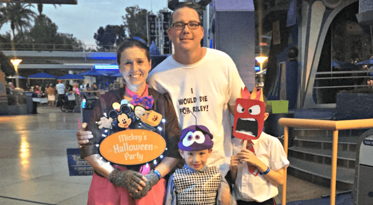 Inside Out DIY Family Costumes
