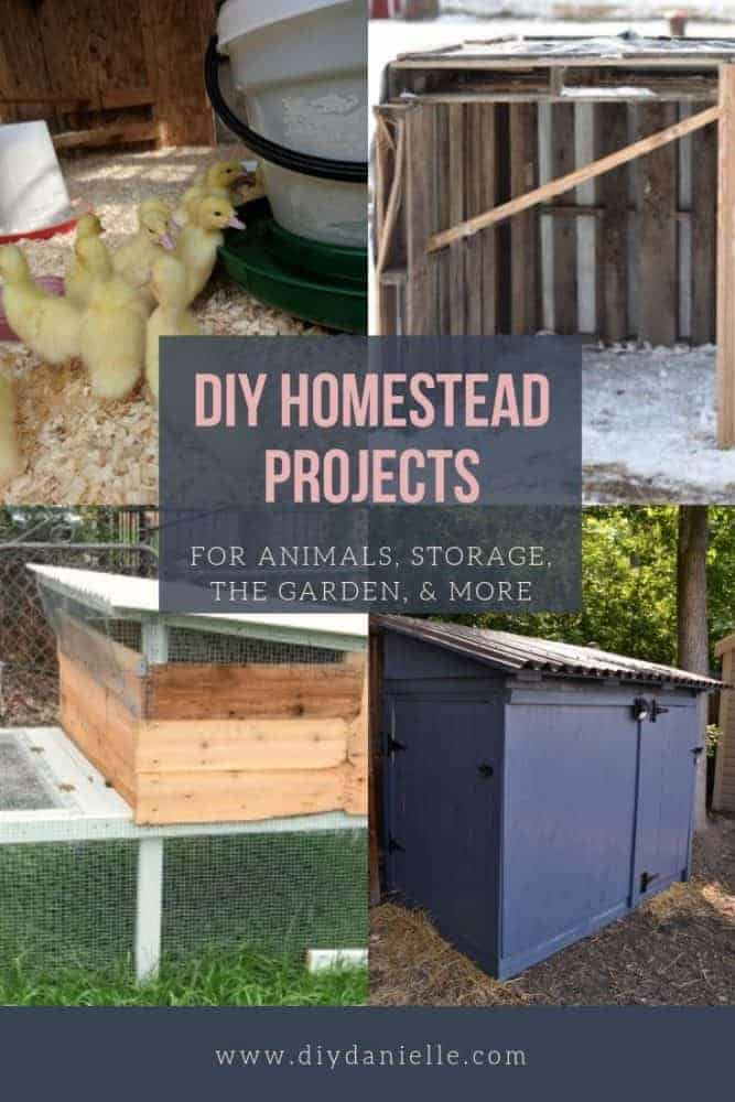 Projects to complete for your small farm or homestead to make it easier to manage, more productive, and more.