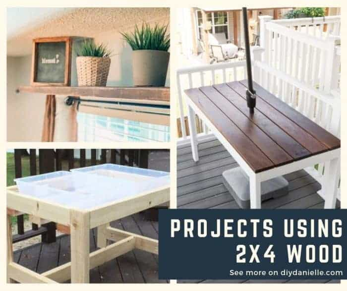Large and small projects that you can build with 2x4s.