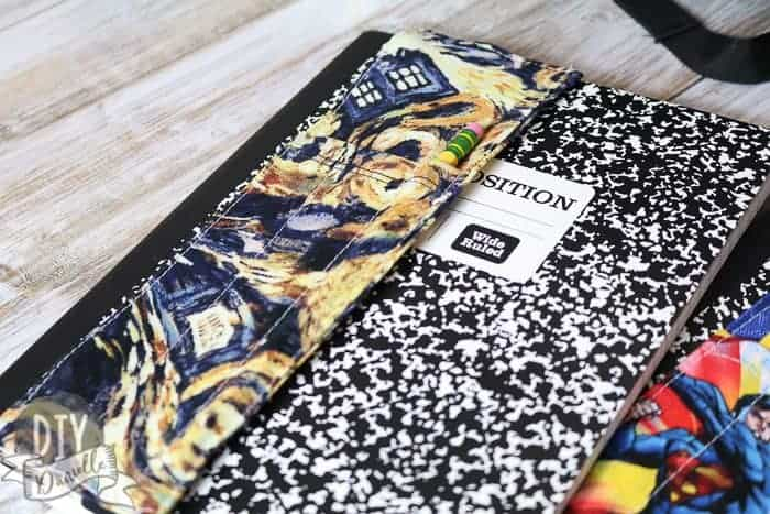 Doctor Who Themed Journal Bookmark