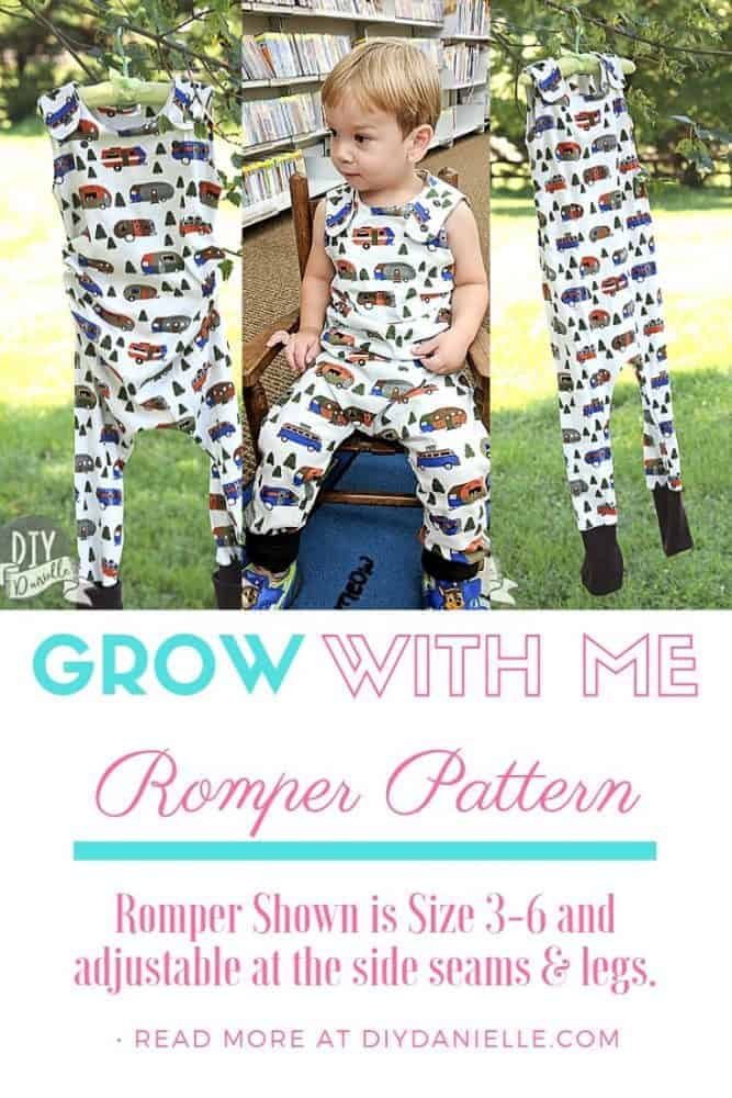 Grow with me rompers: What they are and why you might want to consider them for your baby. Find the patterns so you can sew them yourself or buy them from a small business.
