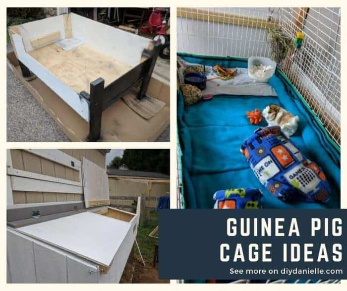 Guinea pigs cages that you can make or buy. Ideas for your cavy cage!