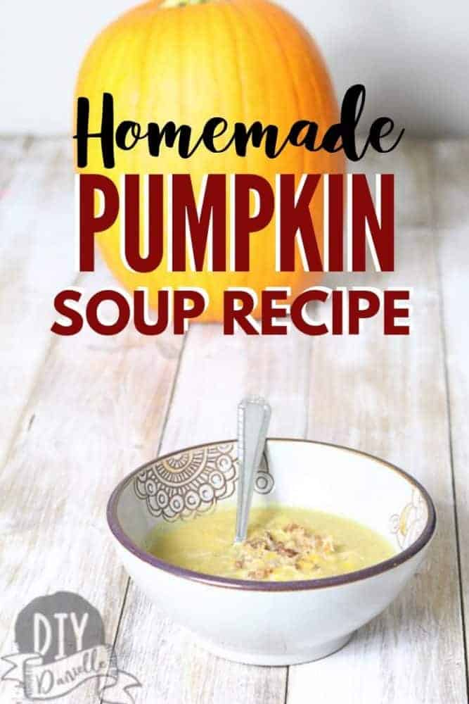 Take those home grown pumpkins and make fresh pumpkin soup. They're awesome served with bacon bits and cheese!