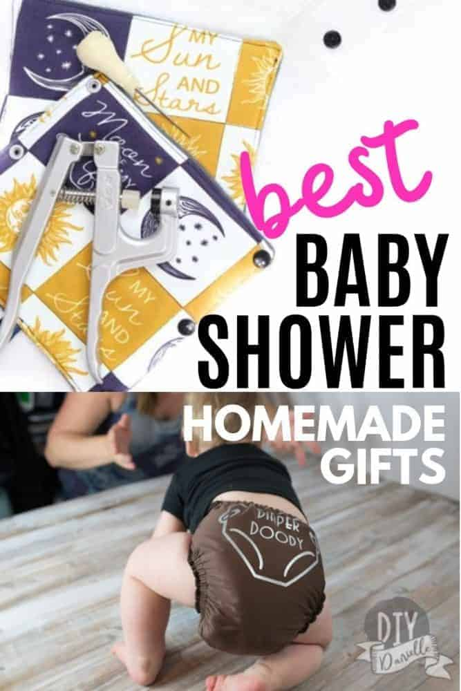 The BEST homemade baby gifts to make for all of those upcoming baby showers!