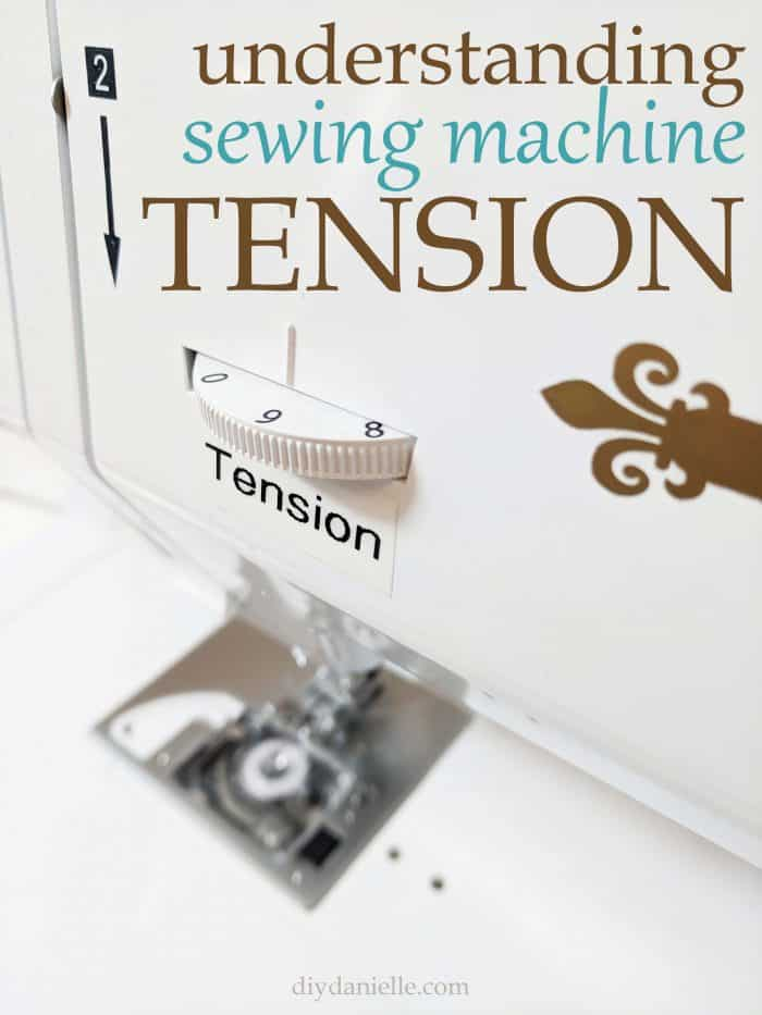 Understanding sewing machine tension. One of the most important things to know about your sewing machine is how to adjust the tension dial and WHY.