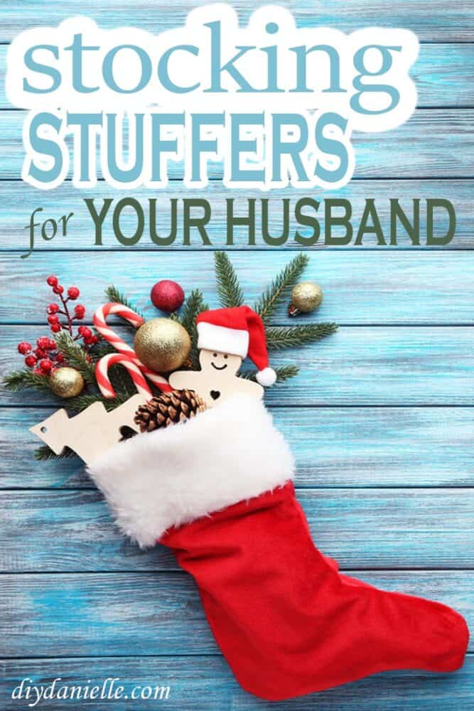 Stocking stuffer ideas for the man in your life, whether it be your husband, boyfriend, brother, or older son.