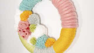 How to Make a Wreath Step by Step – Colorful Holiday Decor