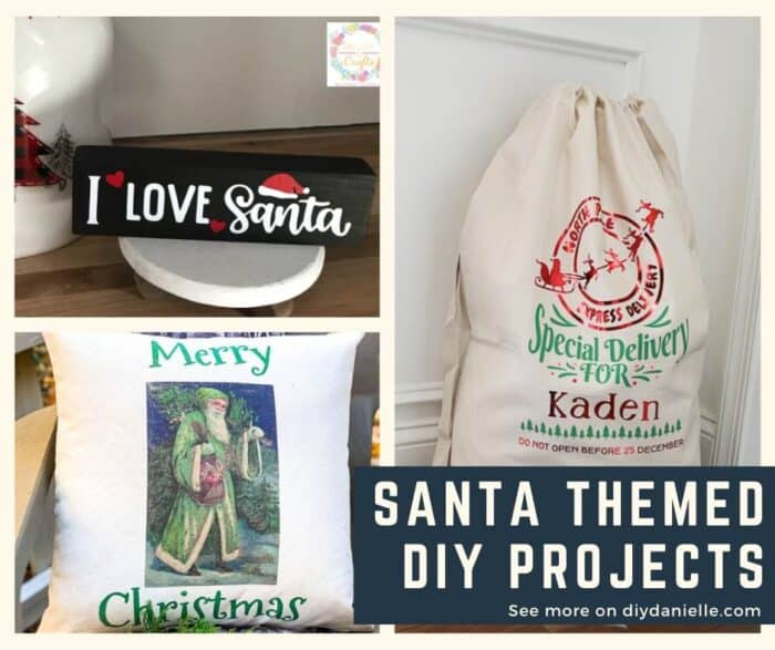 Santa/St. Nick themed DIY projects for your Christmas decor