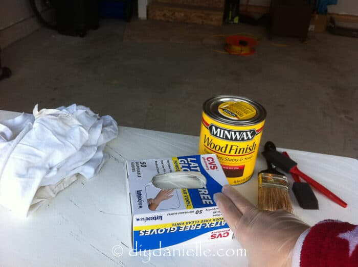 Staining supplies