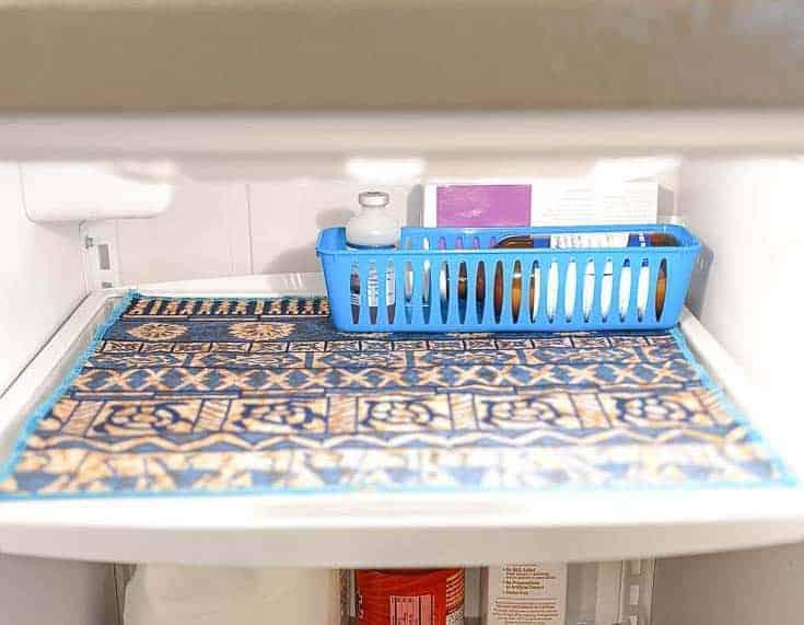 How To Make Washable Mats For Fridge Shelves
