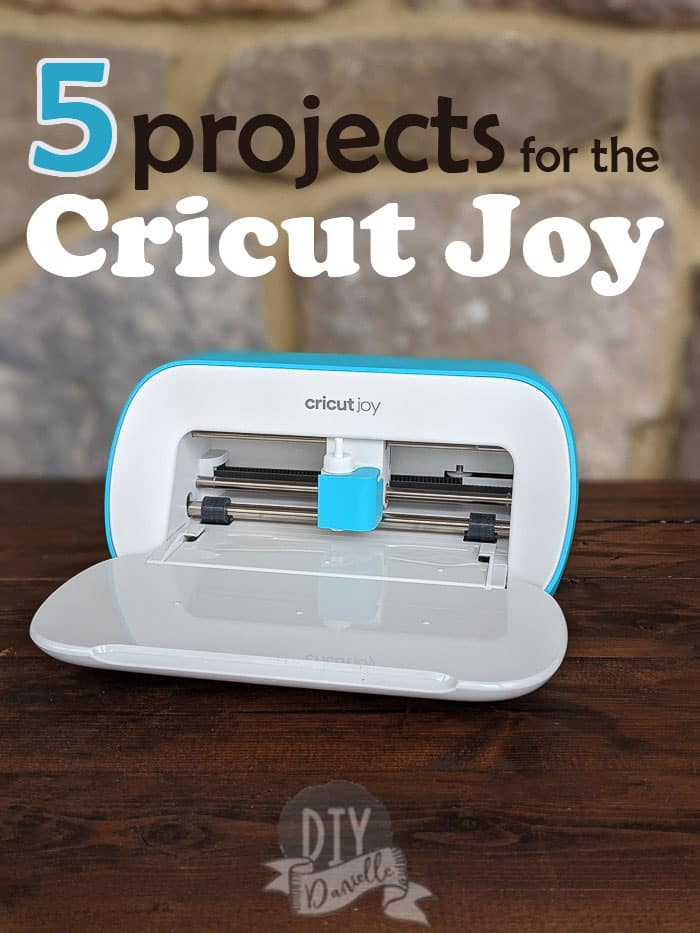 5 Projects for the Cricut Joy: Photo of the Cricut Joy, open and ready to go!
