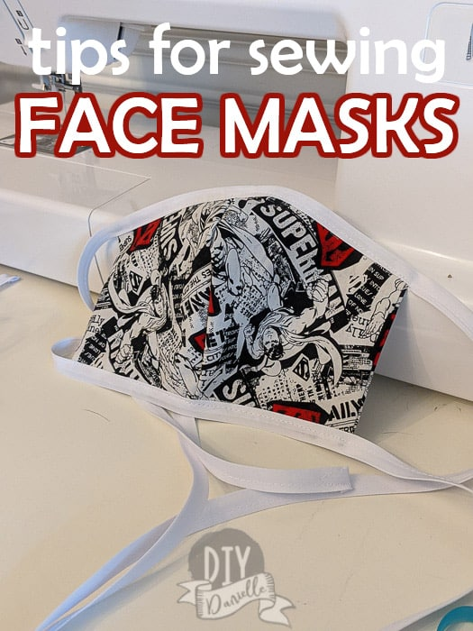 Tips for Sewing Face Masks