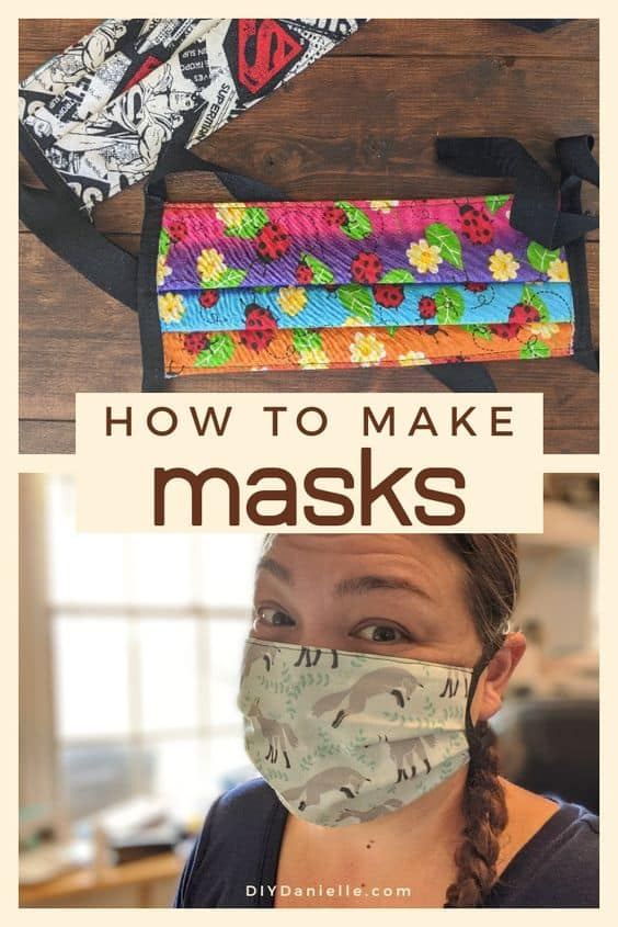 Learn how to make masks with these fantastic tips on how to sew them fast, what fabrics to use, and what patterns work best.