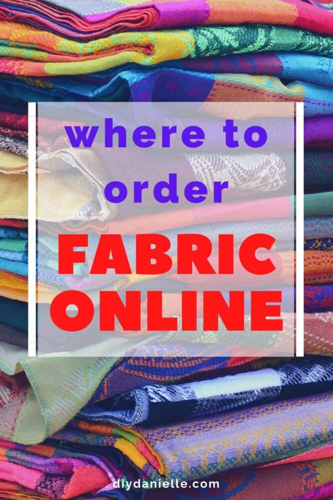 Where to order fabric online!
