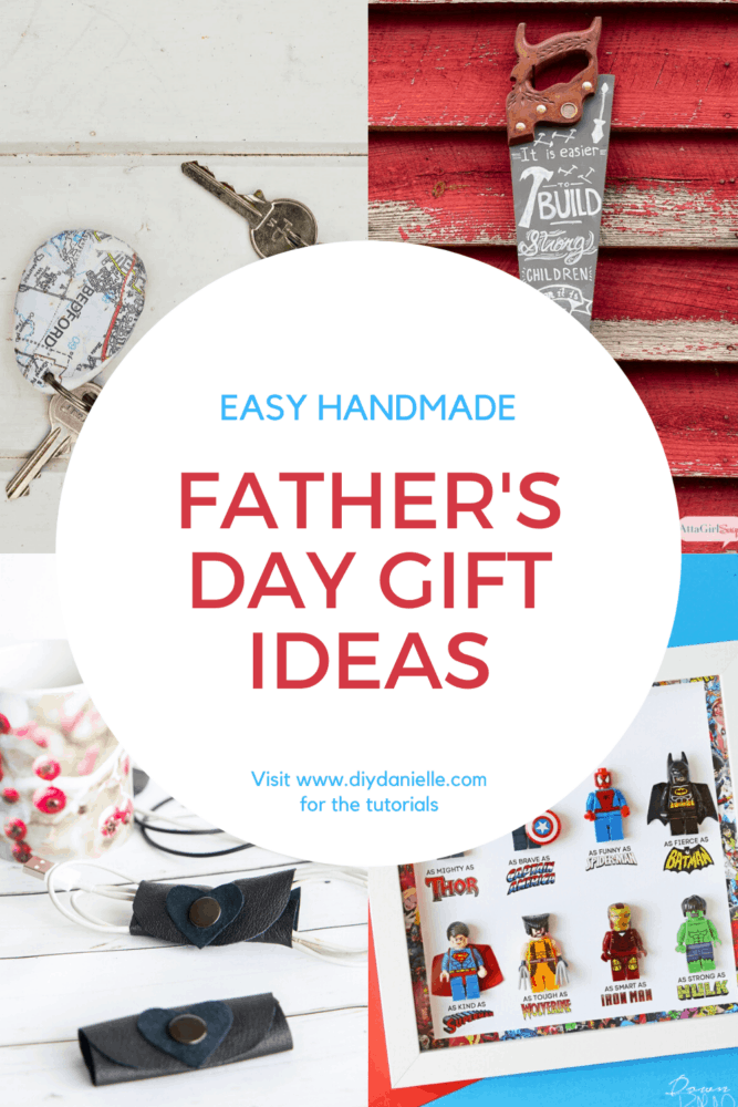 Easy Father's Day gift ideas collage