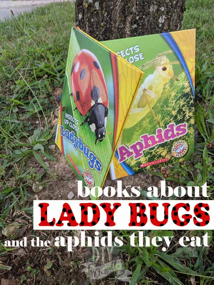Books about Ladybugs and the aphids they eat!