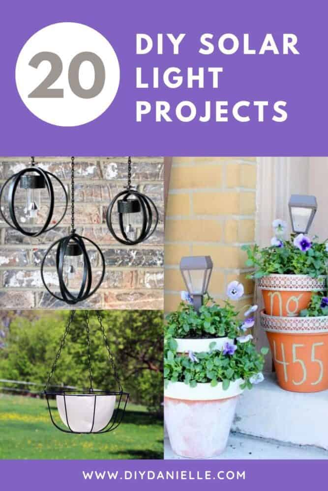 20 DIY Solar Light Projects