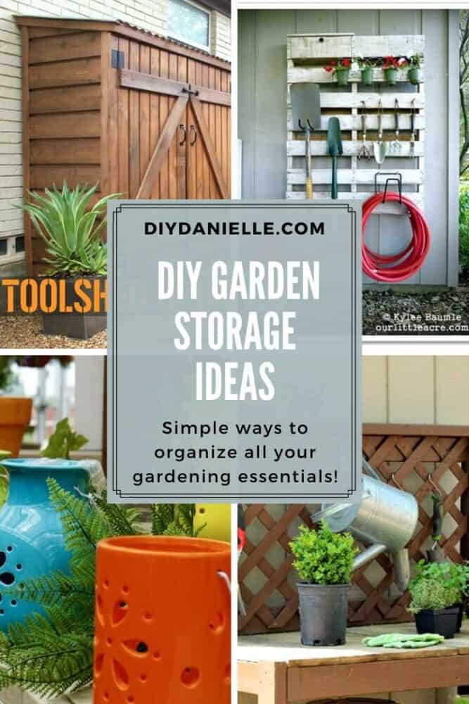 garden storage diy ideas