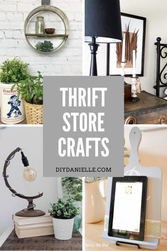 Thrift Store Craft Ideas: Decorating your home doesn't have to be expensive. All you need is a quick trip to your local thrift store and a little creativity. If you need some inspiration, check out these quick and easy thrift store crafts.