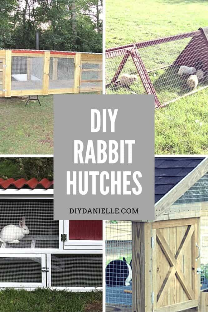 DIY rabbit hutch ideas