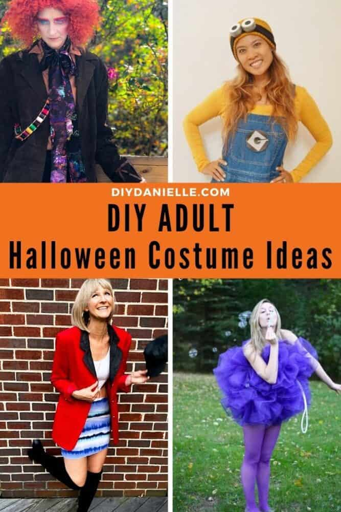 DIY costumes for adults.