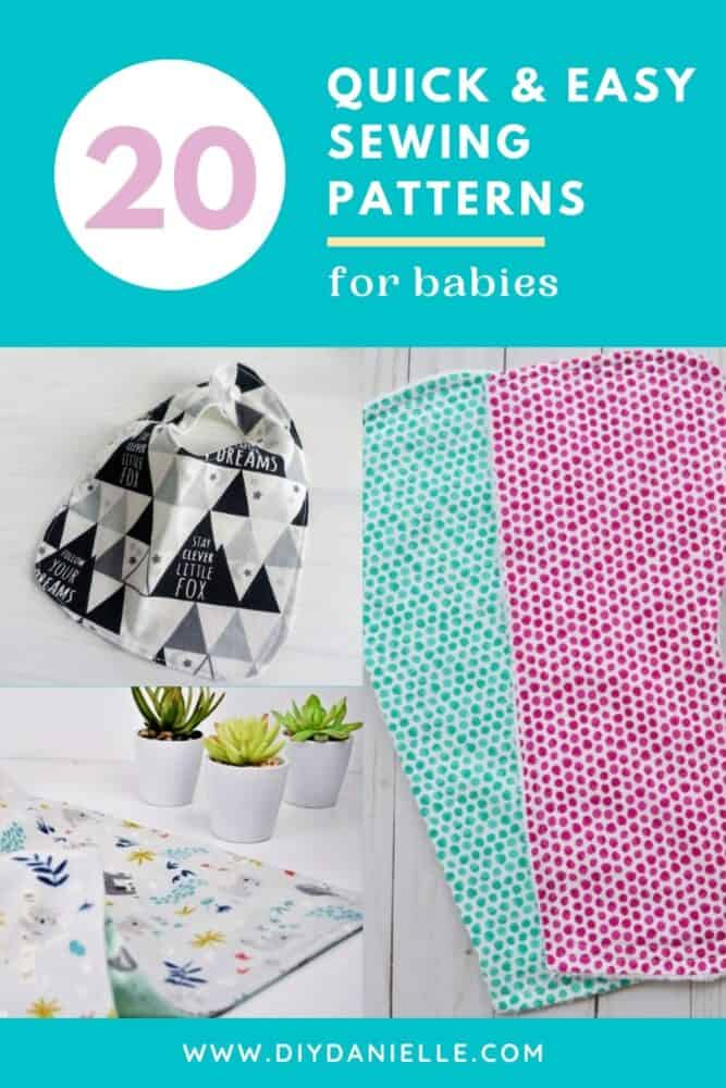 20 free sewing patterns for babies