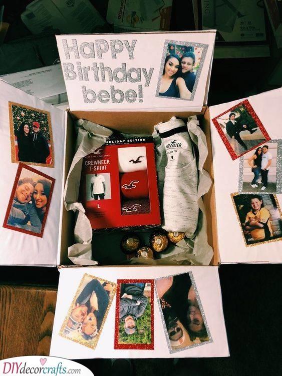 Creative Birthday Gifts For Boyfriend Birthday Present Ideas For Boyfriend