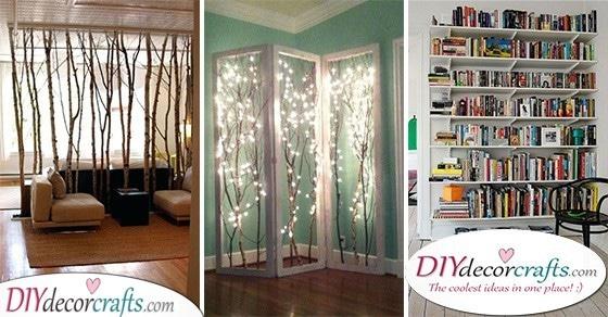 Cheap Room Divider Ideas 30 Room Separator Ideas