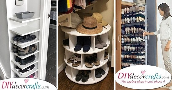 small spaces shoe storage ideas for closets
