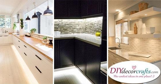 kitchen cabinet lighting 20 best